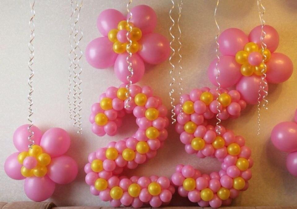 Как своими руками украшения из воздушных шаров 977